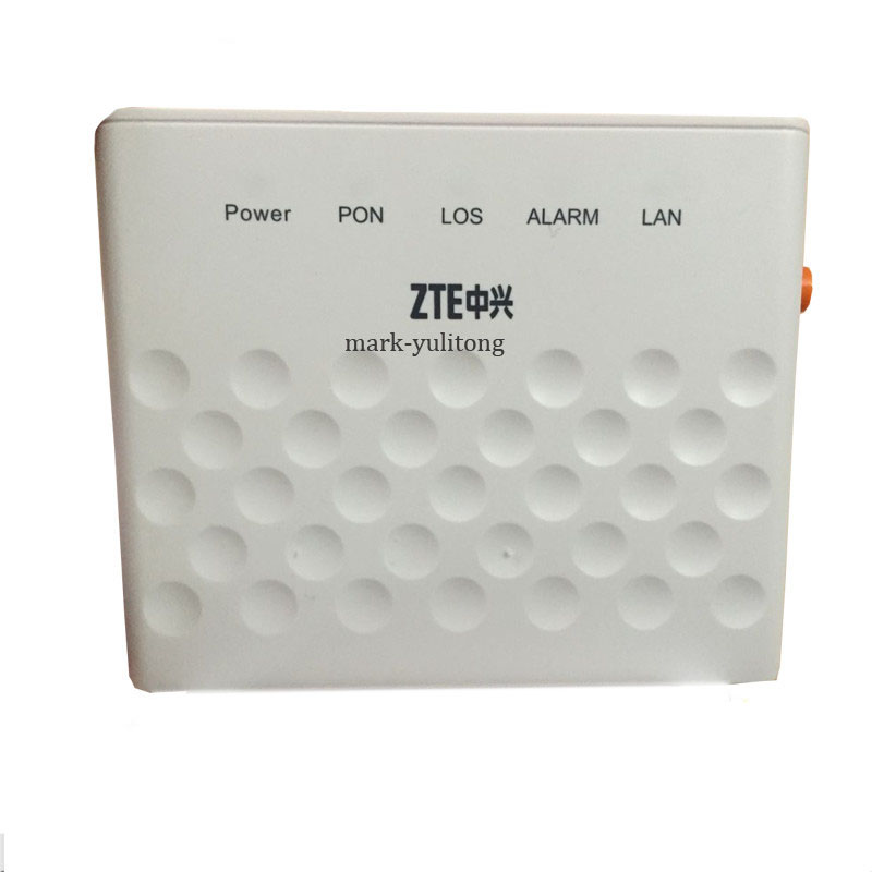 100% Original New  ZTE F601 GPON Terminal ONT Optical Terminal 1GE Port Same Function As ZTE F401 F643 F660 ONU