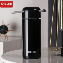 DILLER MLH8754 Thermos Double Layer 304L Stainless Steel Thermos Thermos Cup Coffee Tea Milk Travel Cup Kettle
