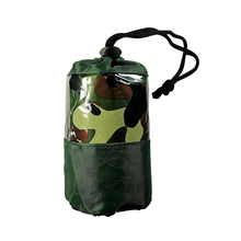 Emergency-Sleeping-Bags Waterproof Portable-Parts Outdoor Camouflage Camp Easy-Carrying