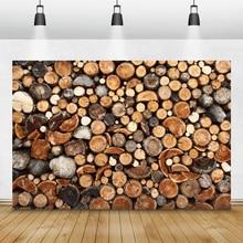 Laeacco الخشب الأخشاب الجذعية الجرونج صورة خلفيات للتصوير الفوتوغرافي التصوير خلفيات زينة عيد الميلاد التصوير الفوتوغرافي استوديو الصور