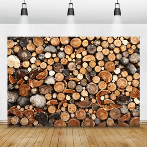 Image 1 - Laeacco עץ עץ גזע גראנג דיוקן צילום תפאורות צילום רקע חג המולד דקור שיחת וידאו צילום סטודיו