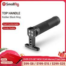 SmallRig empuñadura antideslizante con Base de zapata fría para Monitor de carcasa de camara DSLR, Asa de agarre de cámara estabilizadora 1447