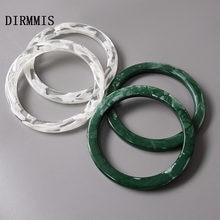 Новинка аксессуары для женских сумок белые зеленые детали из