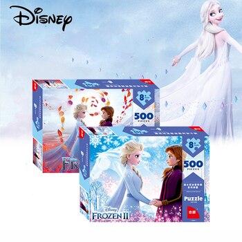 Disney Puzzle Frozen 2 Children's Puzzle Early Learning 100 Pieces 200 Pieces 500 Pieces 1000 Pieces Adult Puzzle 3d Puzzle шарф pieces pieces pi752gwccoj2