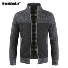 Mountainskin männer Pullover Herbst Winter Warme Gestrickte Pullover Jacken Strickjacke Mäntel Männliche Kleidung Beiläufige Strickwaren SA833(China)