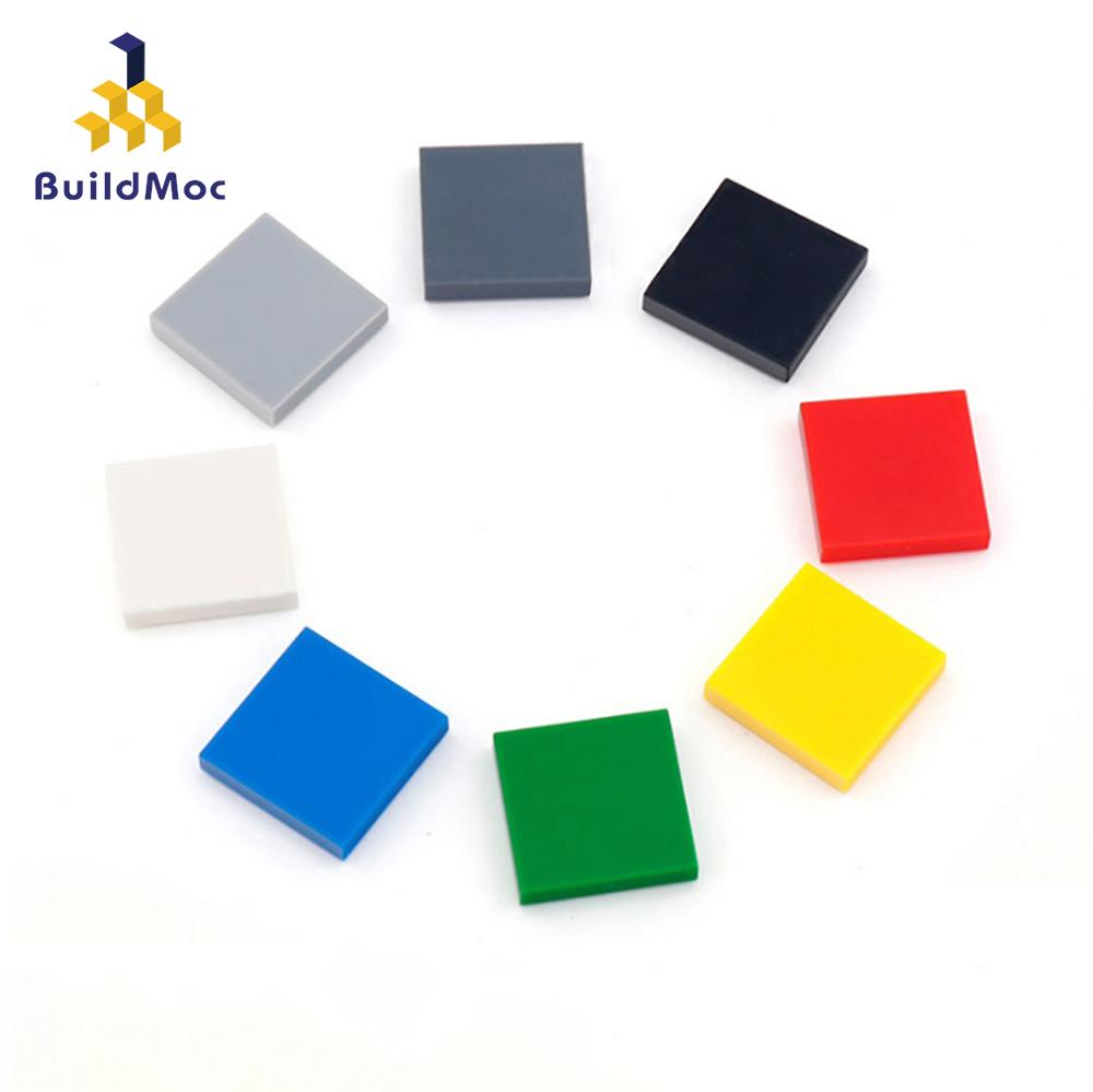 200pcs DIY Building Blocks Figure Bricks Ceramic Tile 2x2 Educational Creative Size Bricks Bulk Model Kids Toys Children