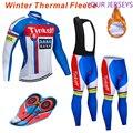 Ciclismo теплые 2020 зимние теплые флисовые Джерси мужские костюмы для велоспорта Одежда для горного велосипеда комбинезон костюм