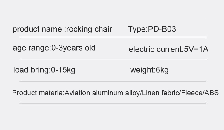 Haf299ed941df41a6a89250b20f95be4aU Baby Electric Rocking Chair Bluetooth Remote Artifact Newborn Baby Sleeping Basket with music Kids Swing cardle 0-36month