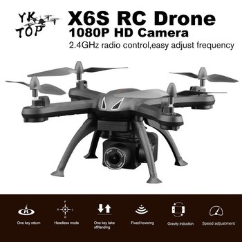 X6S Drone with Camera 480P/720P/1080P/4K HD WiFi FPV Real Time Aerial Video Altitude Hold RC Quadcopter Helicopter Toys VS SG106