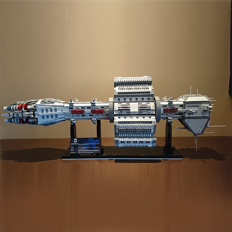 Star Toys Wars The MOC 12902 EAS Agamemnon Model Compatible With Legoing Building Blocks Bricks Assembly Kids Christmas Gifts 1