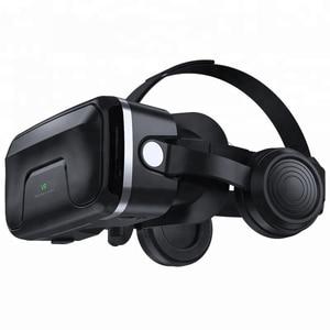 Image 3 - PINZHENG gafas 3D VR para casco, gafas de realidad Virtual, auriculares VR para IOS, Android, teléfono inteligente, vídeo de PC, juego, gafas de cartón