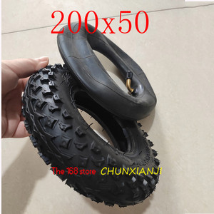 """Image 1 - High Quality (8"""" X 2"""") 200X50 (8 Inch)Tire Fit for Electric Gas Scooter & Electric Scooter(inner Tube Included) Wheelchair Wheel"""