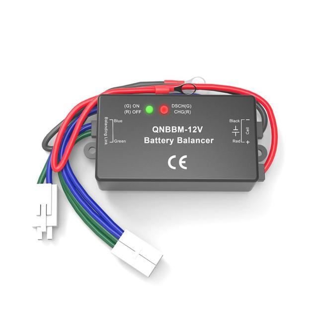 バッテリーアクティブ電圧イコライザー 1 s 2 v 6 v 12 v バランサ鉛蓄電池エネルギー貯蔵システム ess 太陽電池 led
