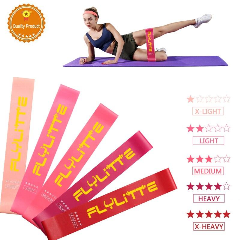 Esercizio Mini fasce di resistenza allenamento di forza elastico per Fitness Sport Yoga Pilates allenamento Fitness Gum Pull Up Expander