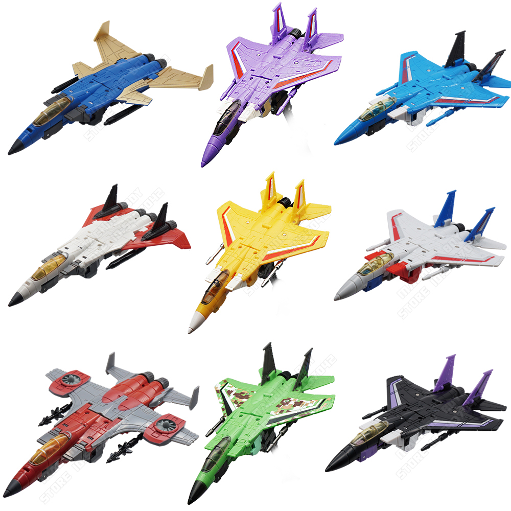 Plane Mode Flight Team Transformation Collection G1 Storm Flighter Deformation Action Figure Toy