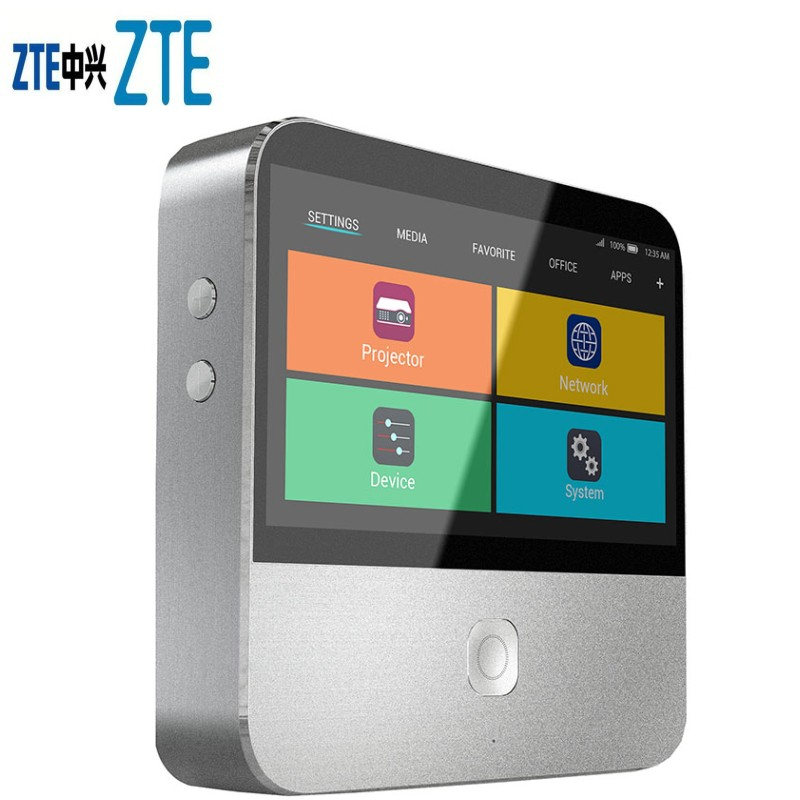 50sets ZTE Spro 2 Smart Android Mini Projector and Hotspot