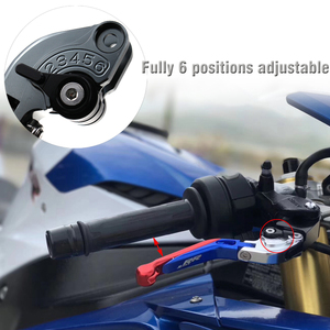 Image 3 - Für Yamaha SuperTenere XT1200ZE 2012 2016 Motorrad CNC Aluminium Bremse Kupplung Hebel Verstellbare Falten Super Tenere XT 1200 ZE