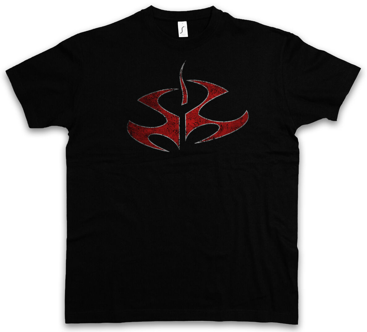 Hitman Symbol T-Shirt-Tribal Tattoo Logo Number Number 47 Game Movie T Shirt image