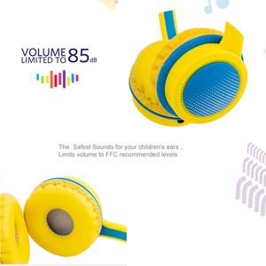 Image 3 - 3.5 مللي متر سماعات سماعات للأطفال سلامة قابل للتعديل سماعة الموسيقى ستيريو سماعات مع ميكروفون ل PC ملحقات الهاتف المحمول