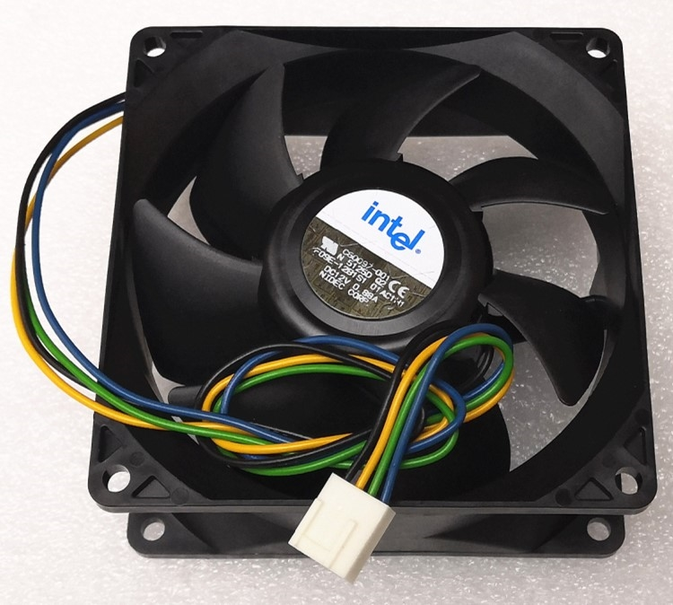 New For Nidec 9238 9038 9cm Fan 4-wire Double Ball F09e-12b1s1 12V 0.88a Pwm Cooling Fan 92mm