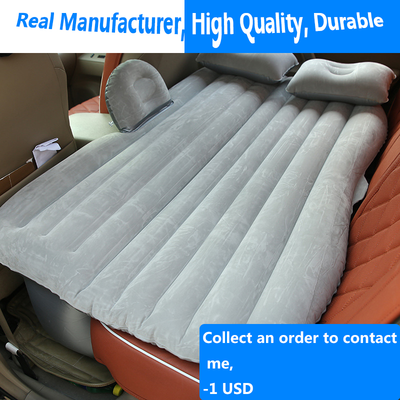 Car Supplies Camping Car Travel Bed, Air Inflatable Mattress Sofa For  Man Women Child Car Travel Water Beach Contain AIR PUMP