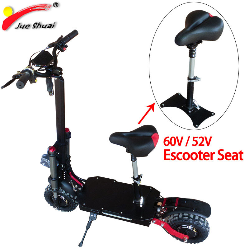 Seat For 60V 52V Electric Scooter Special Seats Electric Scooter Seat High Power Electric Kick Skateboard Foldable Hoverboard