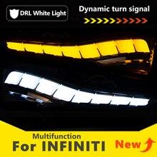 Voor Infiniti Q30 Q50 Q60 Q70 QX50 QX60 QX70 Drl Led Dynamische Richtingaanwijzer Zijspiegel Sequentiële Indicator Blinker lamp