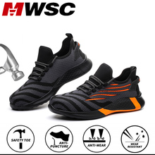 Work-Shoes Sneakers Steel Safety Outdoor Breathable MWSC All-Season for Men Toe-Cap