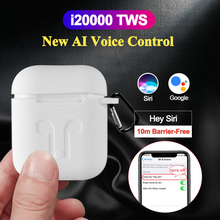 New i20000 TWS Air 2 Voice Control In Ear Detection Earbuds