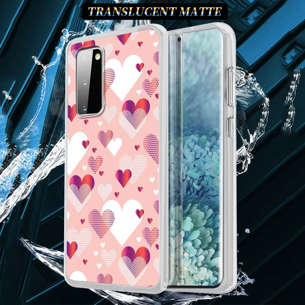 Cute Love Heart Silicone Case For Samsung Galaxy S21 S20 FE S10 S8 S9 Plus Note 20 9 8 10 Lite Soft Cover Shell Capa