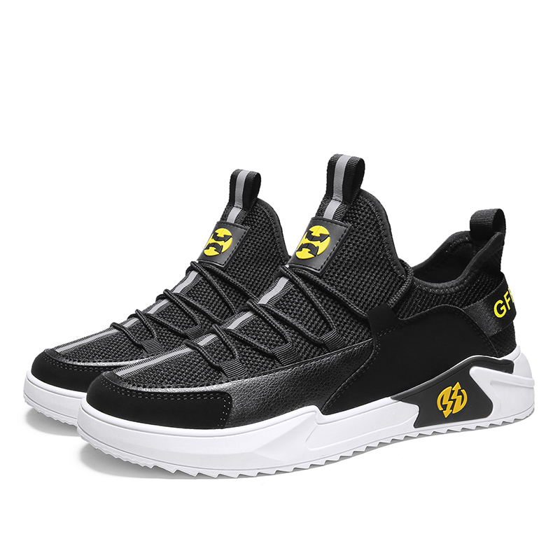 New Breathable Men Shoes Fashion High Quality Male Casual Shoes Comfortable Couple High Help Sneakers Tenis Masculino Adulto