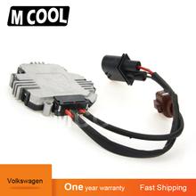 Dla Audi TT VW GTI Golf Jetta Passat wysokiej jakości moduł wentylatora chłodzącego 1K0959455N 3C0959455F 1TD959455 1K0959455DT tanie tanio M COOL Other Klimatyzacja montaż 0 7kg Blower Motor Resistor 10inch Midcool mainland china For Volkswagen 1TD959455 1K0959455N 1K095945