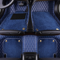 Car floor mats for BMW X6 E71 E72 F16 all weather case waterproof 5D car styling high quality rugs carpet liners