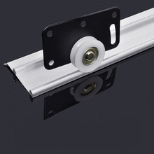 Door-Pulley Sliding-Door-Guide Wardrobe Matching-Hardware-Tools Cupboard Home Supporting