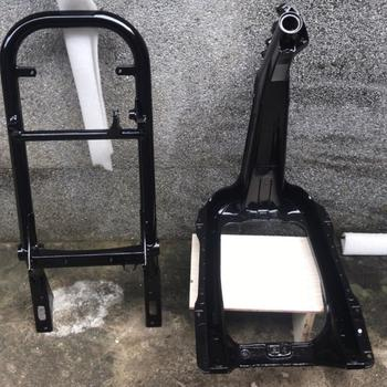 RUCKUS ZOOMER frame CNC aluminium modified tuning upgrade fatty GY6 replacement parts