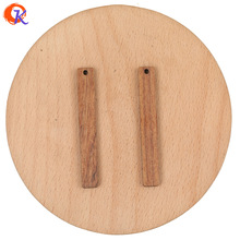 Hand-Made/earring-Findings Cordial-Design Natural-Wood/diy 100pcs 7--52mm