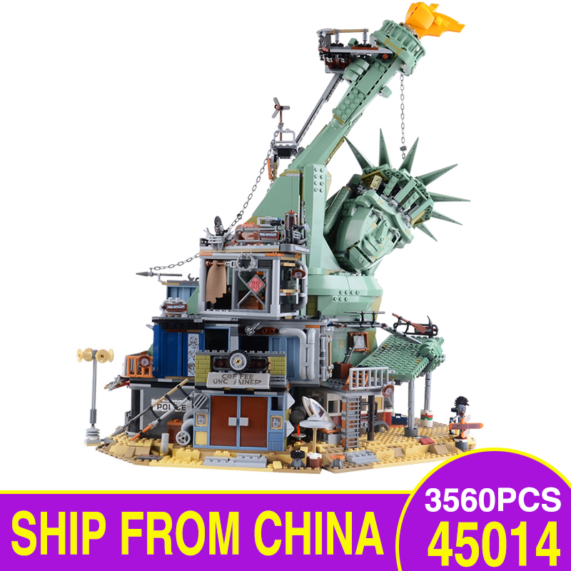 45014 LegoEAS Movie Series Welcome To Apocalypseburg 70840 Model Building Kit Blocks Bricks Assembly Educational Kids Toys Gifts