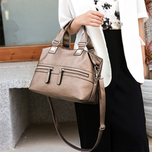 2020 Trend Women's Tote Bags High Quality Leather Female Crossbody Shoulder Bags Ladies Casual Large Messenger Bags Bolso Mujer