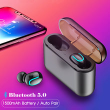 Q32 TWS Wireless Earbuds Bluetooth Earphone HiFi Stereo Handsfree For iPhone Huawei Xiaomi iOS Android Phone(China)