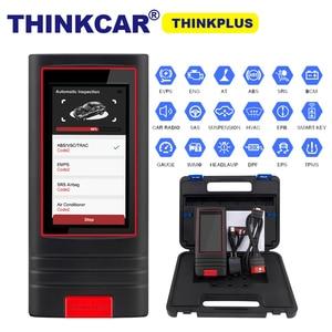 Image 1 - نظام كامل OBD2 أداة تشخيص Thinkplus thinkcar OBDII رمز القارئ 15 إعادة تعيين الخدمات thinkplus pk إطلاق X431V