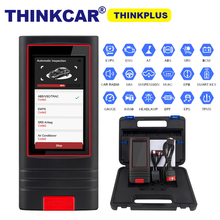 Полный диагностический инструмент OBD2 Thinkplus thinkcar OBDII, считыватель кодов, 15 услуг сброса, thinkplus pk Launch X431V