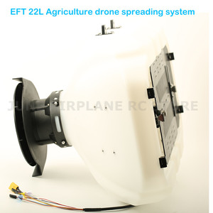 Image 2 - EFT DIY 22L Agriculture drone spreading system Seed fertilizer bait particle spreading equipment for E410 E610 E616
