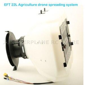 Image 2 - EFT DIY 22L חקלאות drone מתפשט דשן זרעי מערכת פיתיון חלקיקים מתפשט ציוד עבור E410 E610 E616