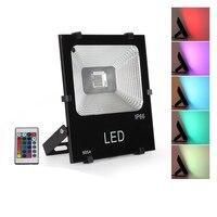 8 قطعة 10W 20W 30W 50W 100W 200W 300W LED كشاف ضوء الباردة/ الدافئة/الأحمر/الأخضر/الأزرق/RGB عاكس الضوء في الهواء الطلق الجدار مصباح العارض-في الأضواء الكاشفة من مصابيح وإضاءات على