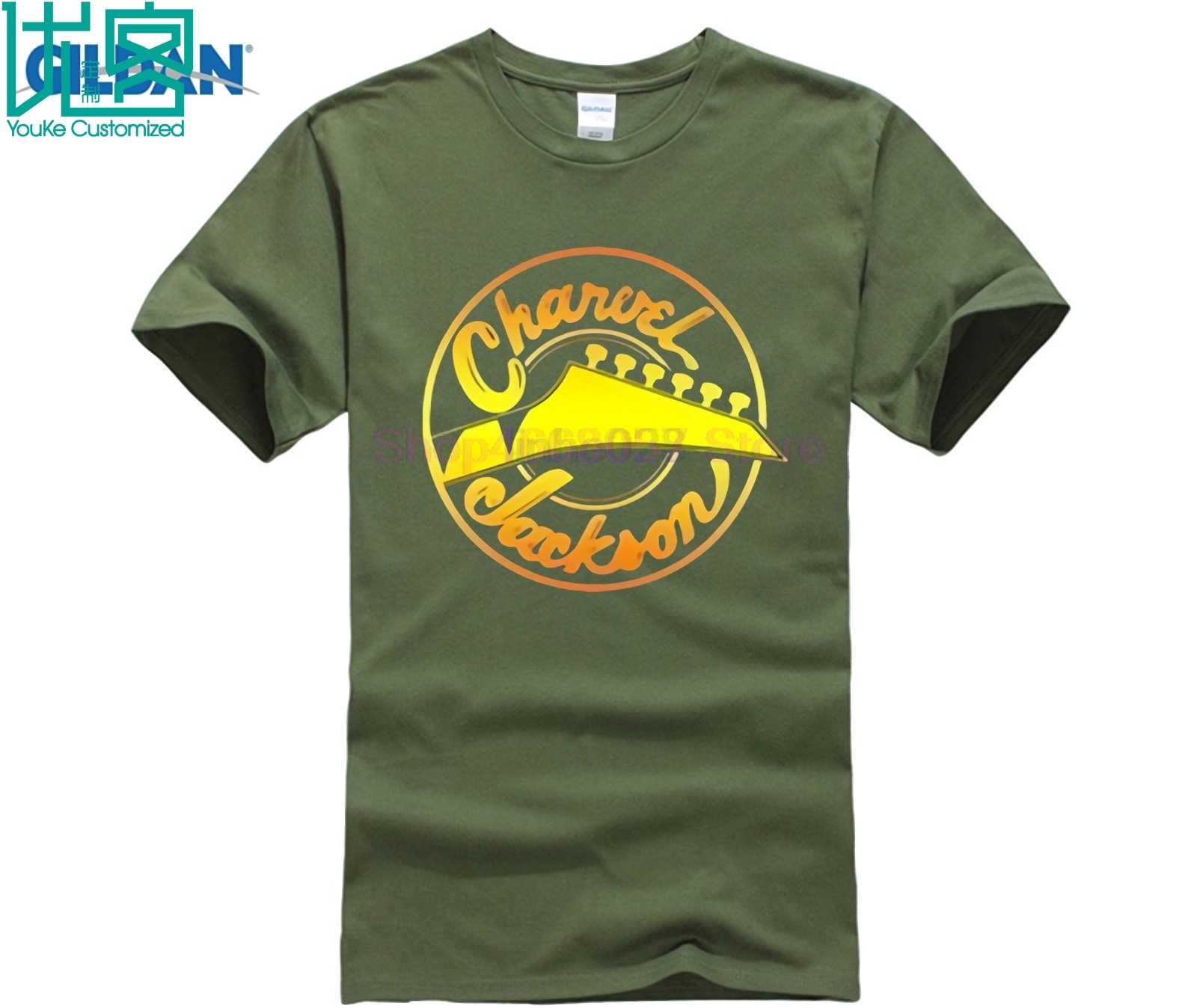 Charvel Jackson Gitar Pria Pria T Shirt TEE T Shirt 100% Katun S-3XL