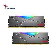 ADATA RAM XPG Spectrix D50 RVB LED 3200 MHz 3600MHz 8Gx2 DDR4 XMP 2.0, 16GX2 Mémoire DIMM