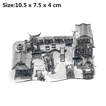 Architecture 3D Metal Puzzles World  8