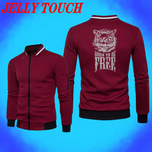 Stand Collar Mens Jackets And Coats Winter Solid Polyester Slim Outerwear Casual With Zipper Chaquetas Para Hombre