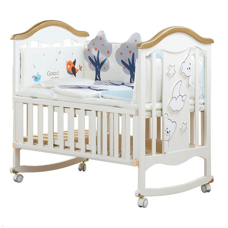 Lozko Dla Dziecka Ranza Cama Infantil For Kinderbed Children's Wooden Children Kid Lit Chambre Enfant Baby Furniture Bed