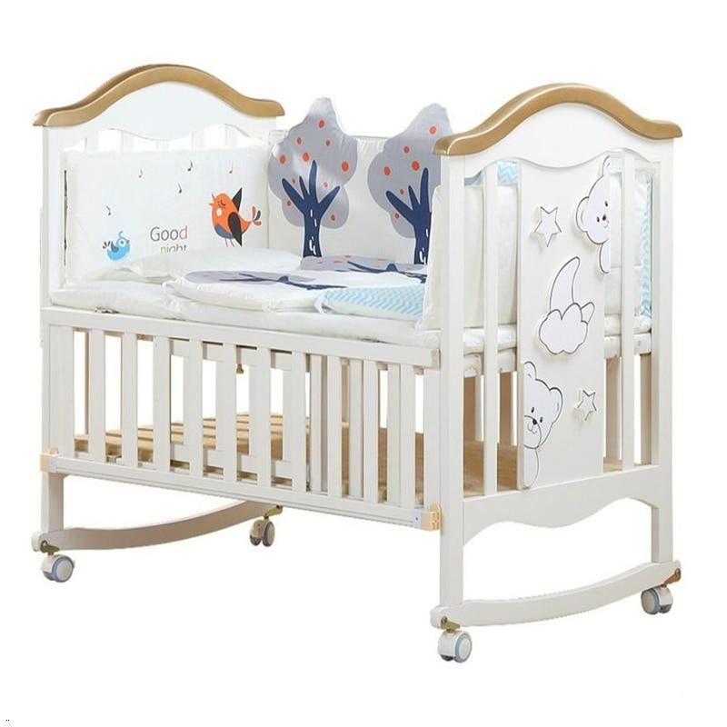 Lozko Dla Dziecka Ranza Cama Infantil For Kinderbed Children's Wooden Children Kid Lit Chambre Enfant Baby Furniture Bed